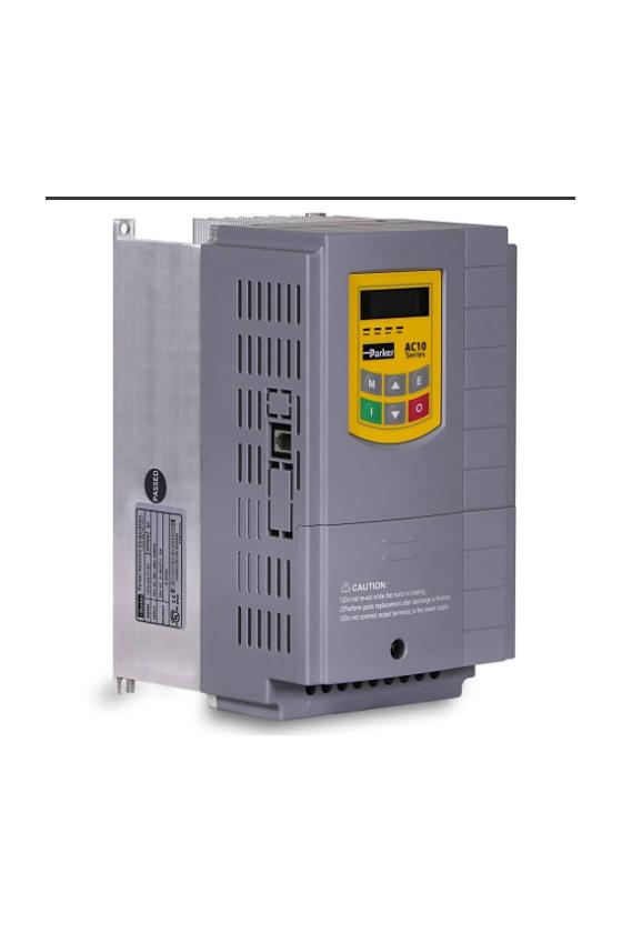 10G-43-0120-BN VFD055E43A VARIADOR AC10V, 440VCA, 7.5 HP, FRENO SOLO MODBUS RS-485