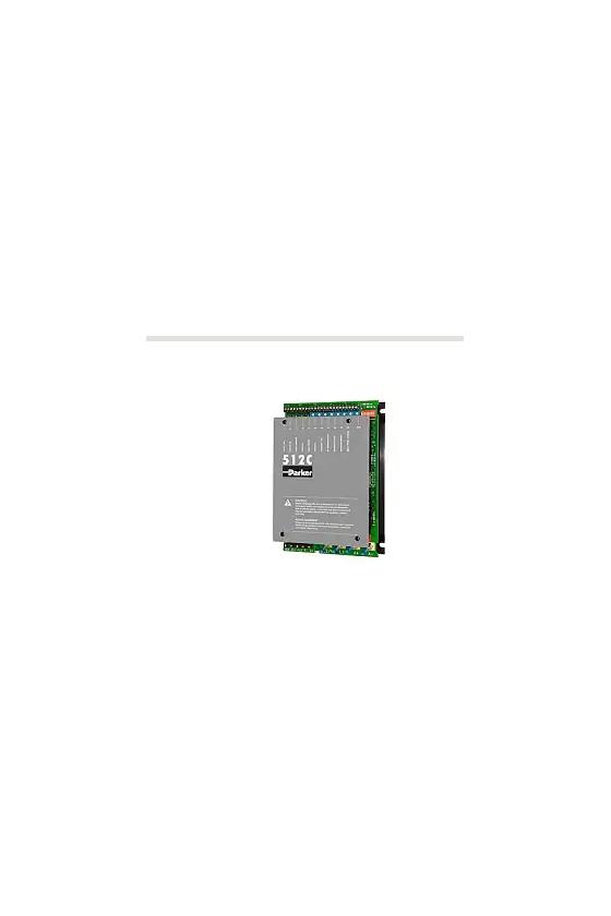 512C-16-00-00-00 DRIVE DC ANALOGICO, 2 CUADRANTES 1PH 2Q DC CONTROLLER, 16 Amp