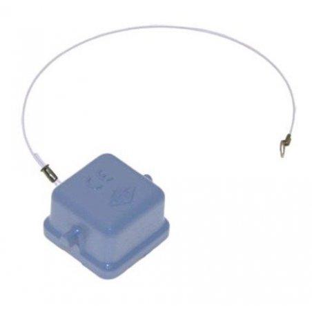CKA 03 C - Cubiertas protectoras metálicas con pivote para conectores hembra