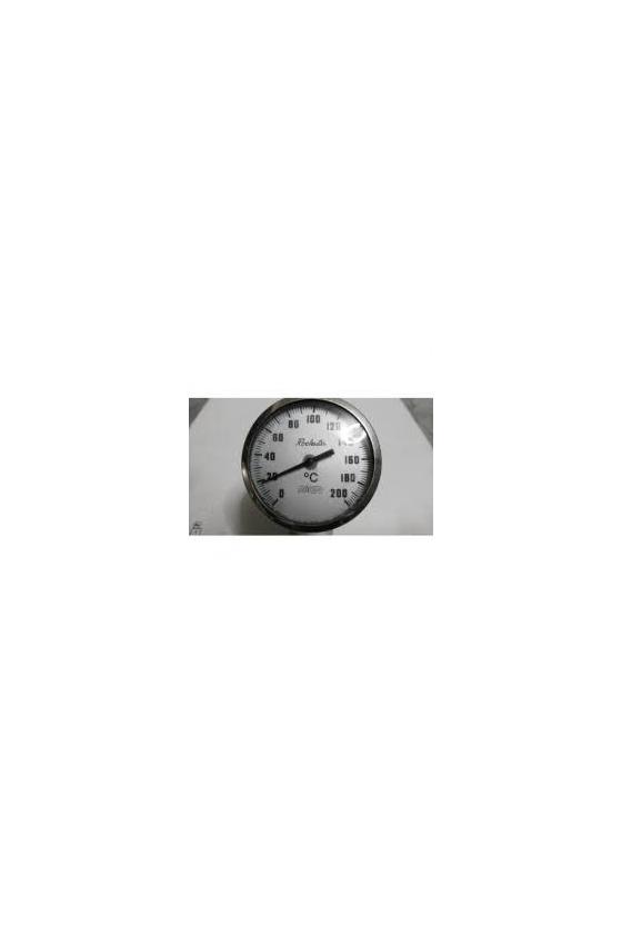 1825 6 0-200 (RG-1550-03306) TERMOMETRO 5X6 IN  POST 1/2 IN  0-200 GRAD C