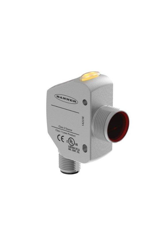 94691 Sensor laser ajustable serie q4x rgo 300mm ent 10-30 vdc  Q4XTULAF300-Q8