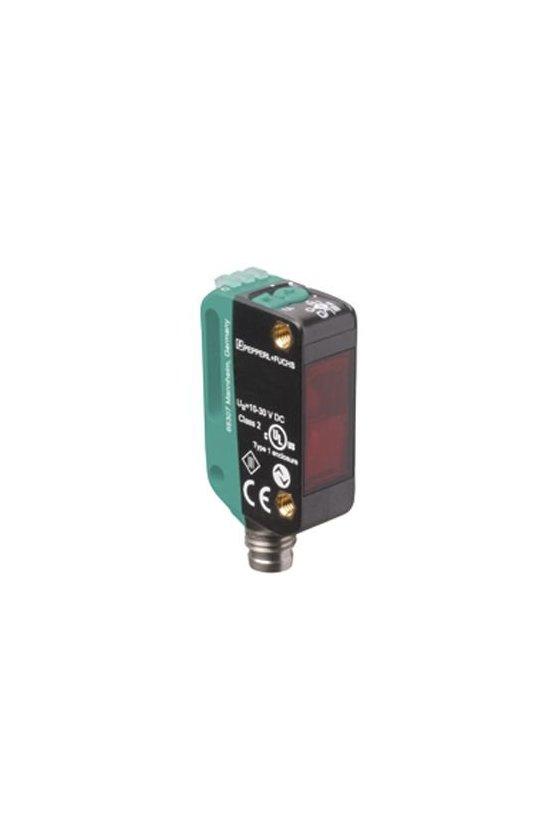 267075-100028 Sensor óptico de barrera por reflexión (vidrio) OBG5000-R100-2EP-IO-V31