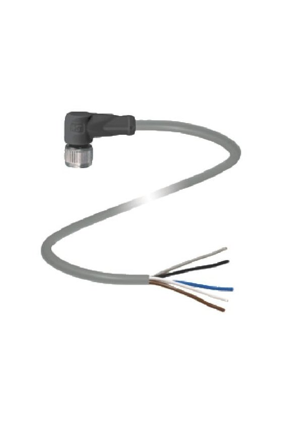 033486 Conector hembra V1-W-10M-PVC