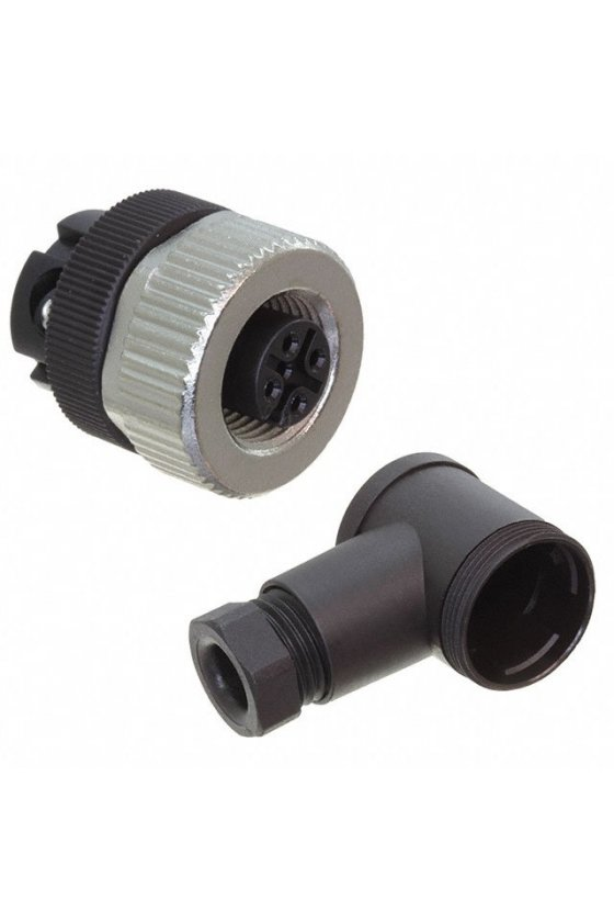 V1-W-BK (224884) - Conector hembra,confeccionable