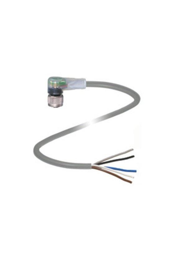 034267 Conector hembra V1-W-E2/E3-5M-PUR