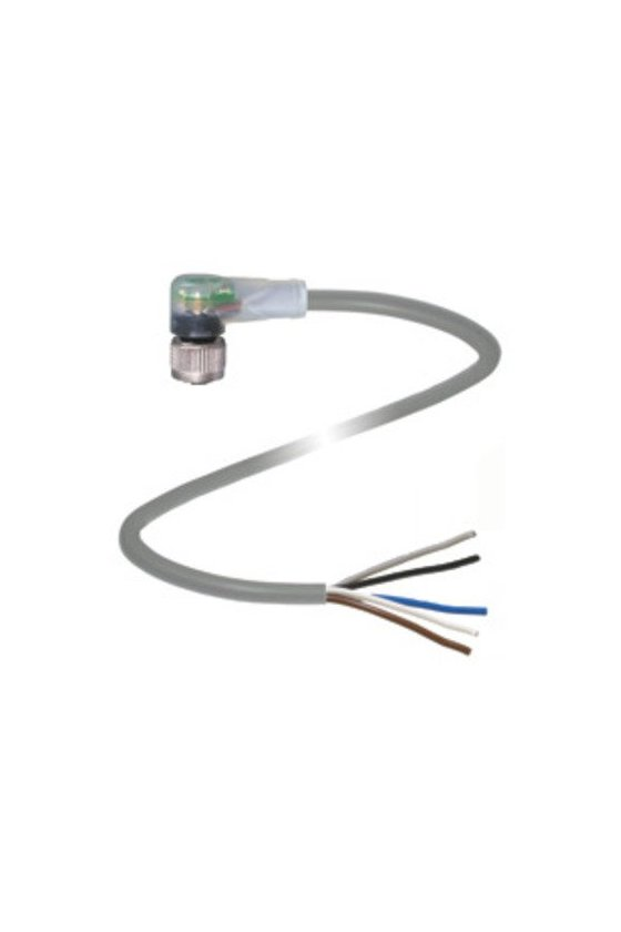 033831 Conector hembra V1-W-E2-2M-PUR