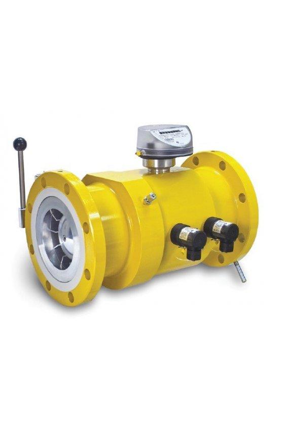 TRZ2 G250 4 Contador de gas turbina 4 IN ANSI 150, con accesorios.