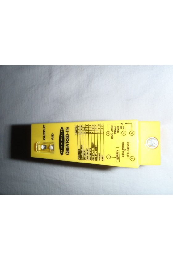 31655 Sensor fotoeléctrico difuso serie Q85 Q85VR3D
