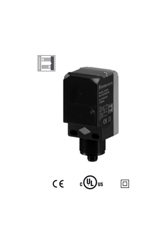 911618 Sensor óptico de barrera por reflexión RL61-55-Z/92/136
