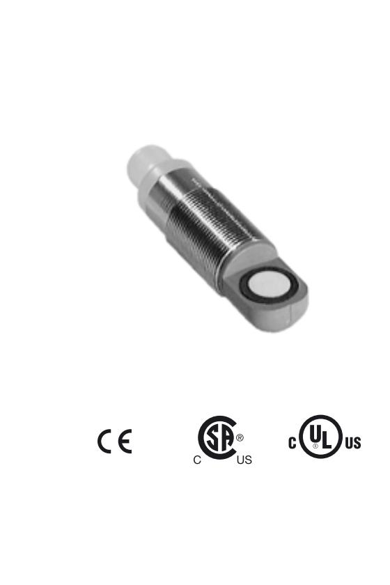 220351 Sensor ultrasónico UB300-18GM40A-E5-V1