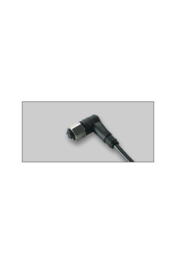 032797 Conector hembra V1-W-2M-PVC