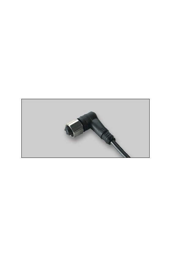 032798 Conector hembra V1-W-5M-PVC