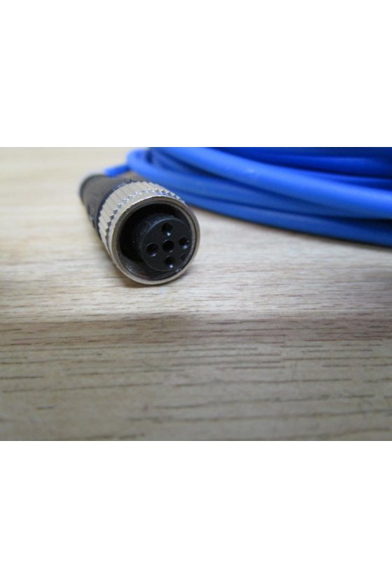 033596 Conector hembra, NAMUR PUR V1-W-N-5M-PUR