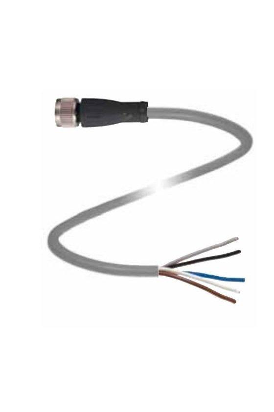 109021 Conector hembra V3-GM-2M-PVC