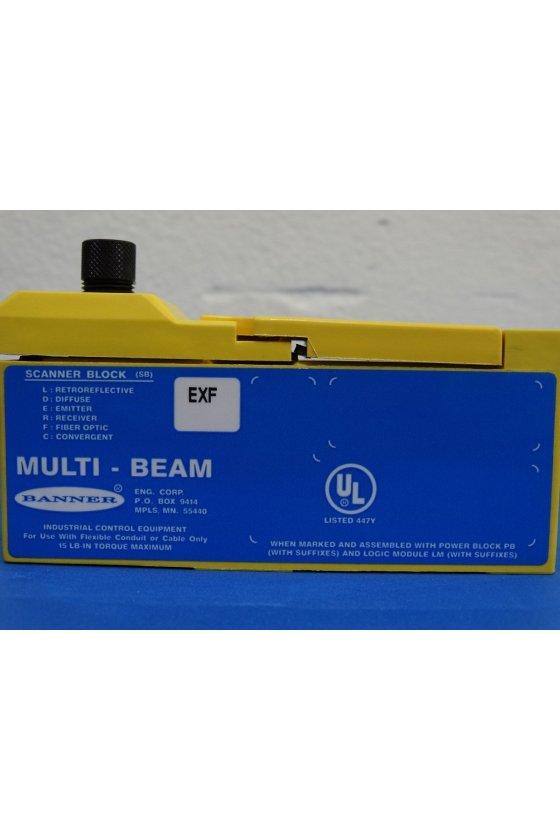 16446 Bloque de escáner de 3/4 hilos - Emisor SBEXF