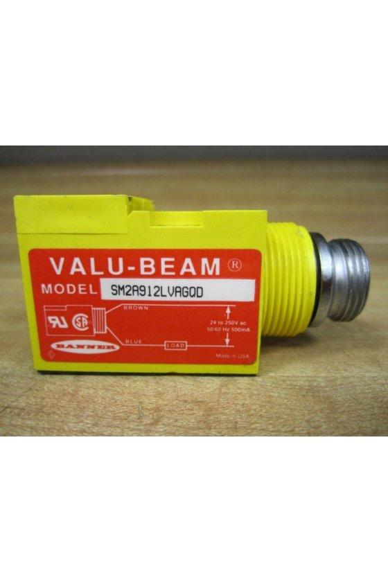 26653 SENSOR RETRO-POLARIZDO SERIE VALU-BEAM SM2A912LVAGQD