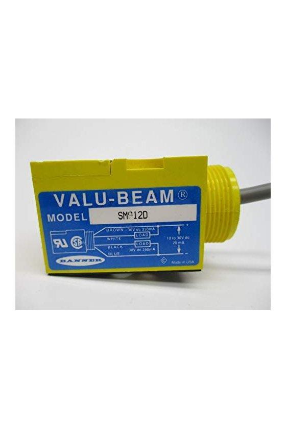 26398 Sensor fotoelectrico retro-polarazado serie VALU-BEAM SM912LVAGQD