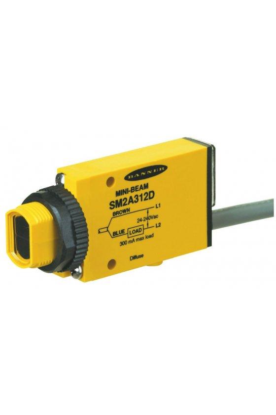 52577 Sensor amplificador de fibra óptica serie mini-beam SMU315F