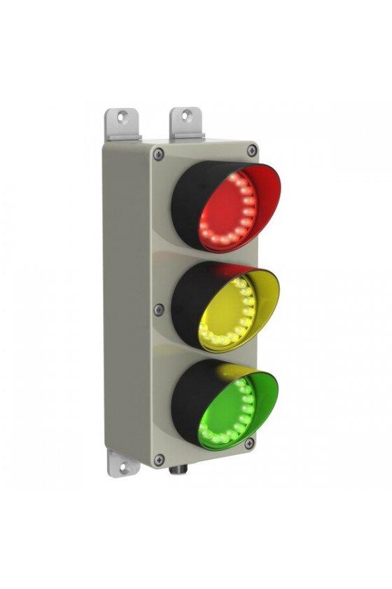 13142 Semáforo de trafico luz de día de 3 indicadores visible SP350GYRPQ