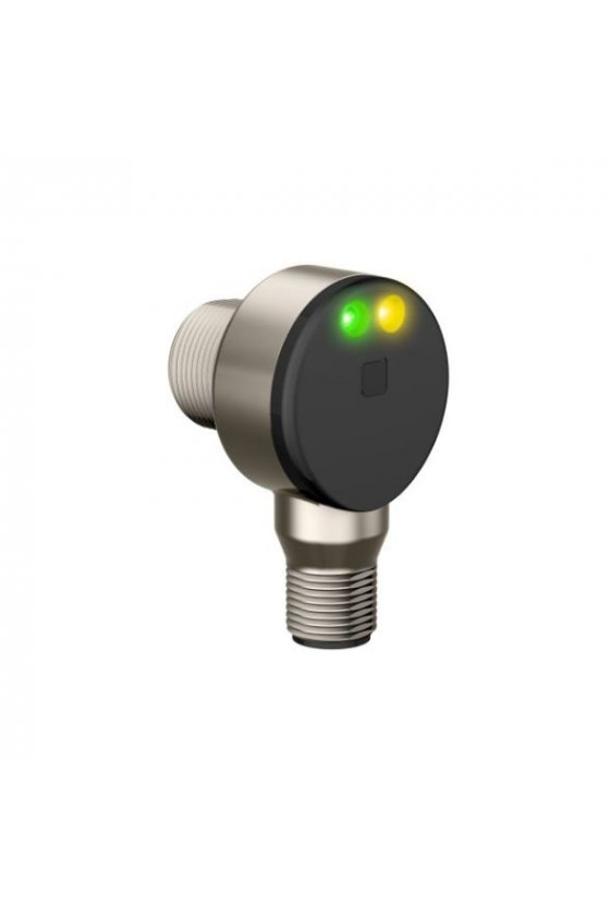 42001 Sensor de ángulo derecho de metal pesado retro-reflectivo polarizado serie TM18 TM18AP6LPQ8