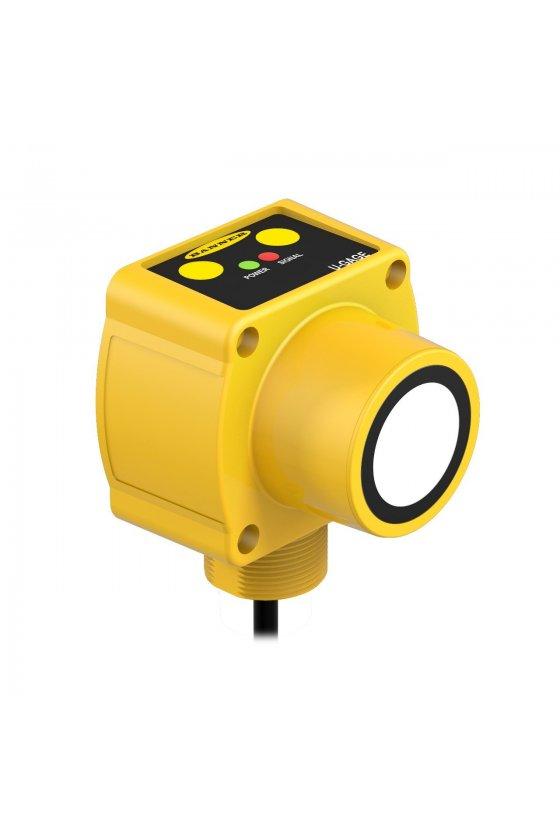 02726 Sensores ultrasónicos de largo alcance serie QT50U QT50ULB
