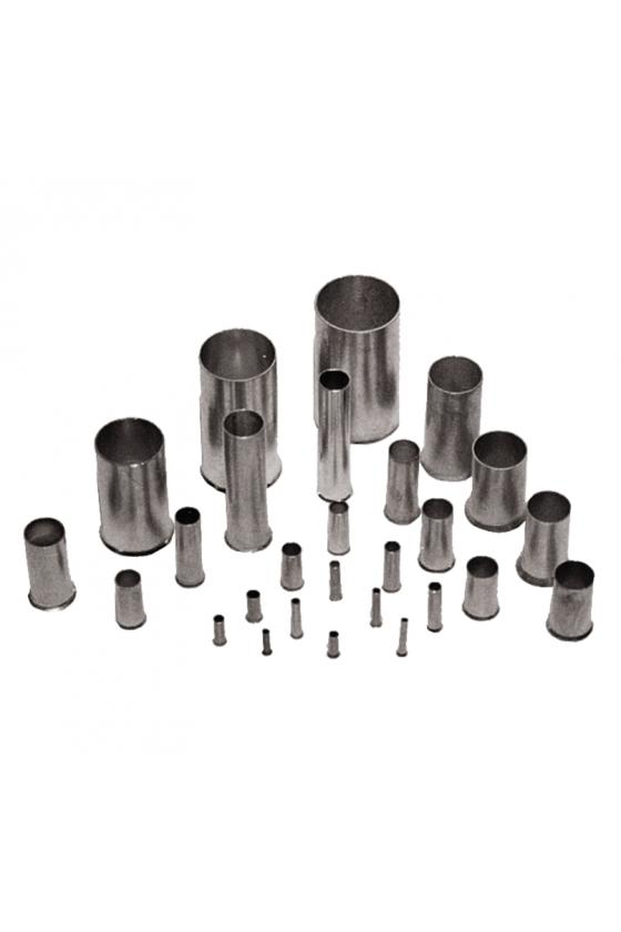 0124700000 Terminales tubulares sin aislamiento conductor sección nominal 0,25 mm² - 6,0 mm² H6,0/15