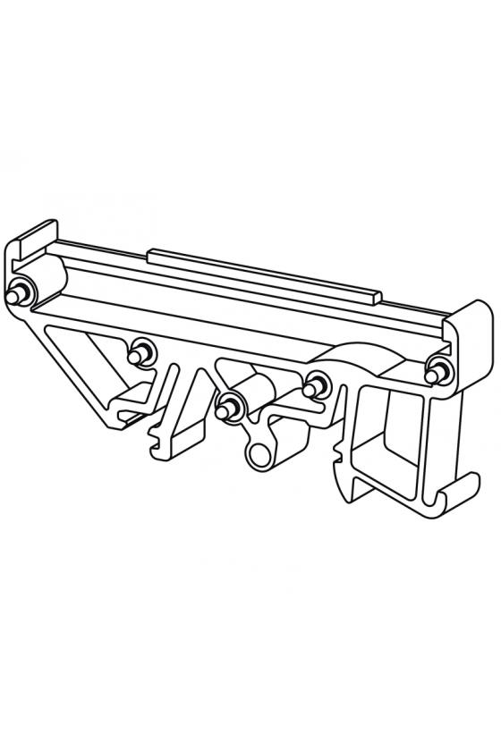0126260000 Carcasa perfil RS 70 para placas c.i. de 68 mm en versión modular RF RS 70 RE/A4/O.BEZ OR