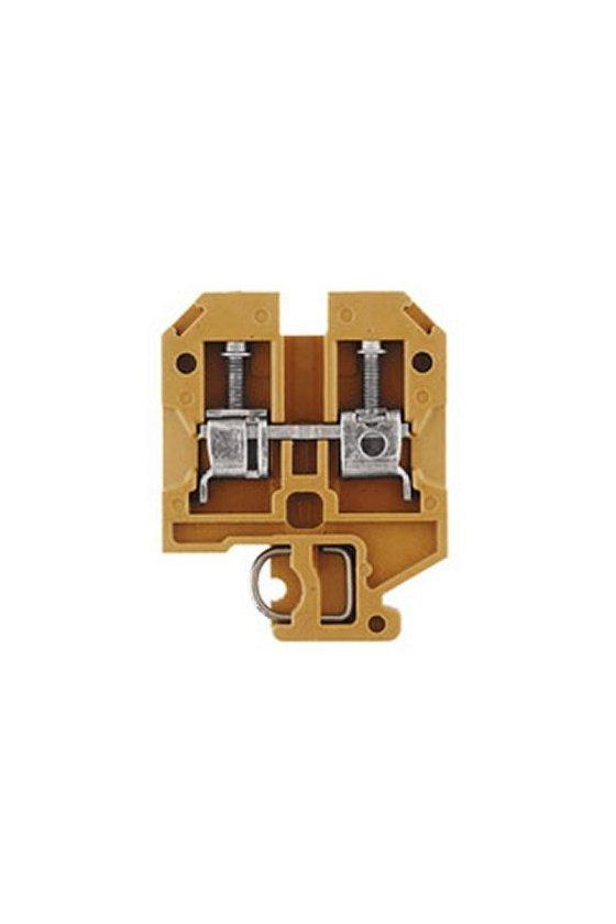 0128320000 Serie SAK TS 32 Bornes de paso 1 piso 4 mm² SAK 4 KRG