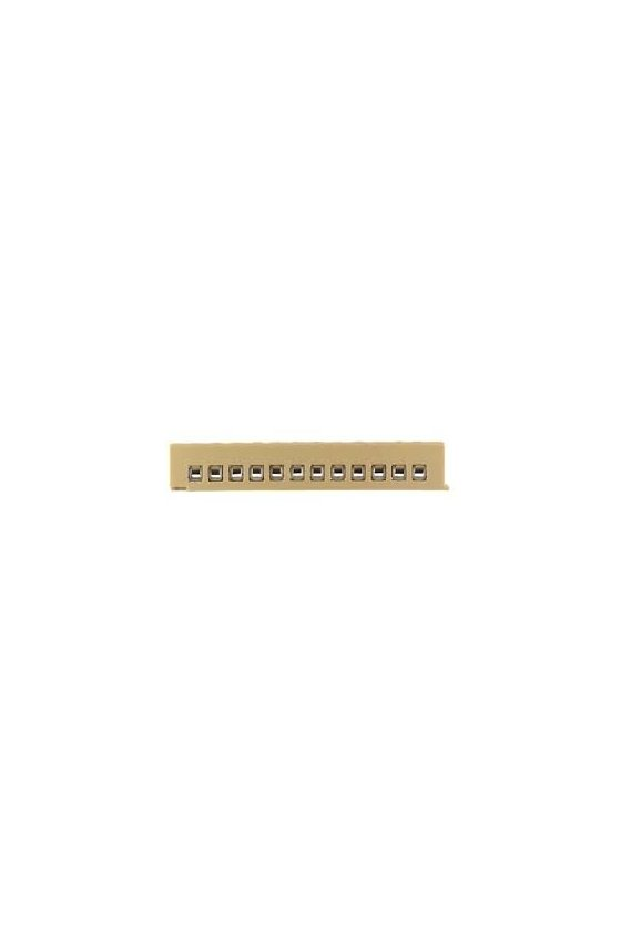 0241260000  Serie SAK Regletas de bornes multipolares 2.5 mm² MK 2/12