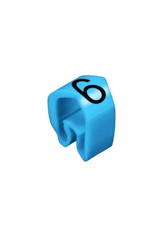 0252111521 CableLine (PVC V0) 1,5 - 70 mm CLI C cerrado Impresión estándar CLI C 02-3 / 0,5 - 1,5 mm² CLI C 02-3 BL/WS 6 MP