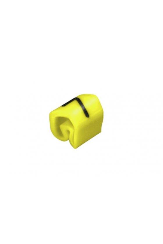 0252111523 CableLine (PVC V0) 1,5 - 70 mm² CLI C cerrado Impresión estándar CLI C 02-3 / 0,5 - 1,5 mm²  CLI C 02-3 GE/SW 7 MP