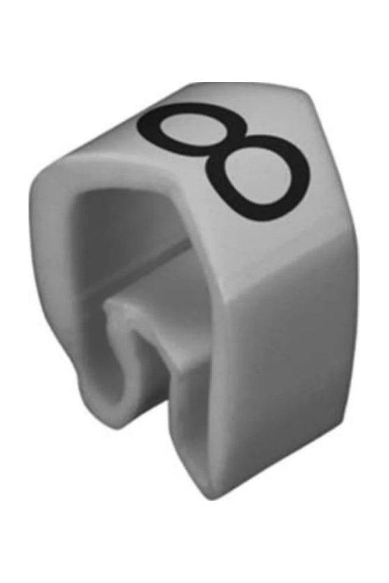 0252111527 CableLine (PVC V0) 1,5 - 70 mm² CLI C cerrado Impresión estándar CLI C 02-3 / 0,5 - 1,5 mm² CLI C 02-3 GR/SW 8 MP