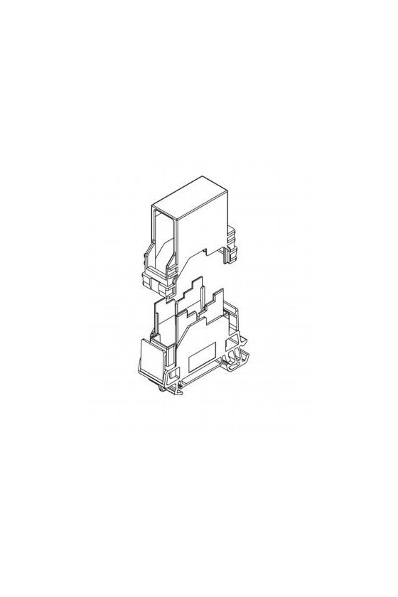 8946970000 - Conector fibra optica MONTA RIEL IE-TO-SCD-MM