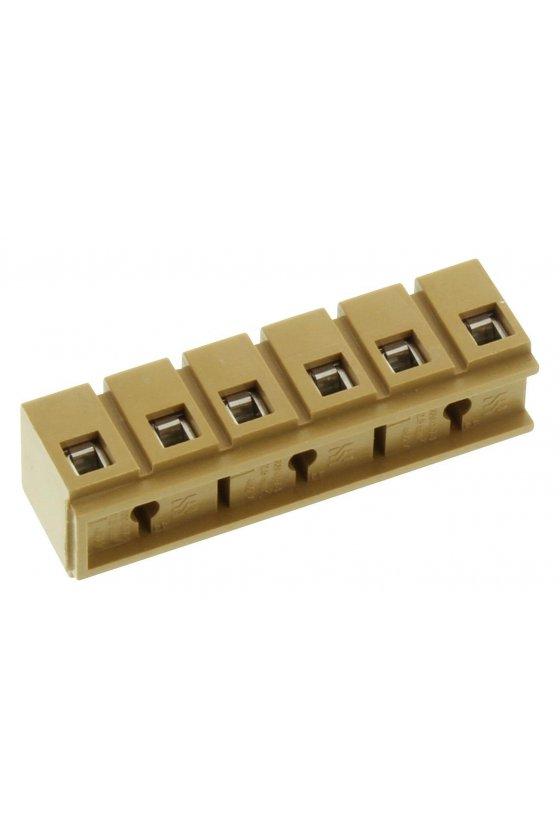 0274220000  Serie SAK Regletas de bornes multipolares 2.5 mm²  MK 3/6