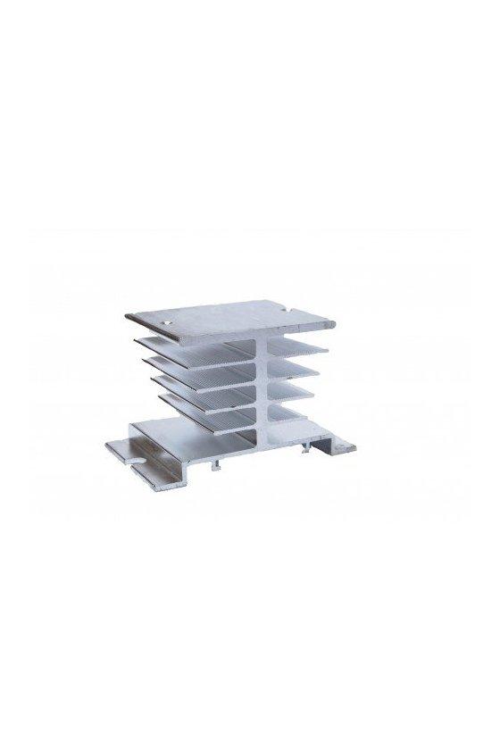 ZDHS1 Disipador de 60x50x50 aluminio para Relé 10/25amp