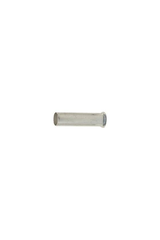 0282900000  Terminales tubulares sin aislamiento Conductor- Sección nominal 10,0 mm² -185,0 mm² H10,0/12