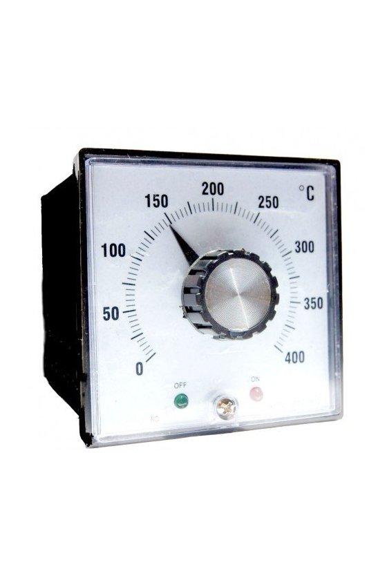 ZTC-902 Control de Temperatura Analógico de 0 a 400ºC tipo K