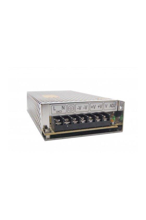 ZF12024 Fuente de poder input 100-240 VAC output + 24v / 5Amps