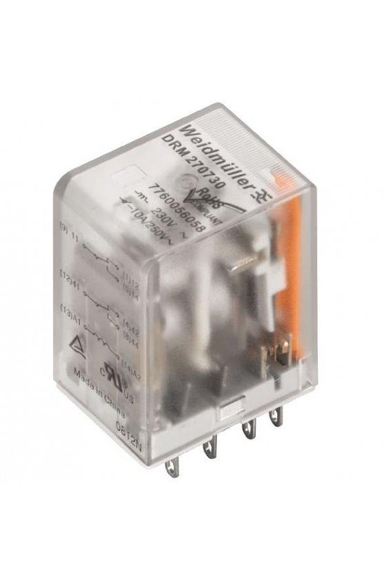 7760056051  DRM Relé 2 contactos conmutados relé estándar DRM270024