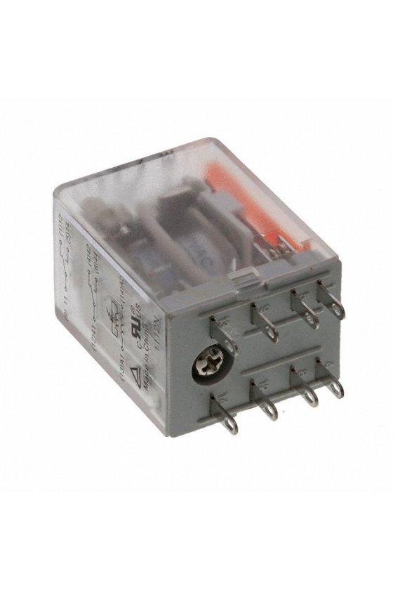 7760056103  DRM Relé 4 contactos conmutados con LED y botón de prueba DRM570615LT