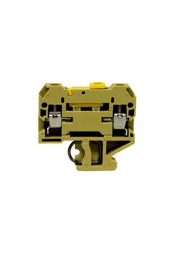 0412260000 Serie SAK TS 32 Bornes seccionables de prueba modulares 1 piso 4 mm² SAKR 2STB