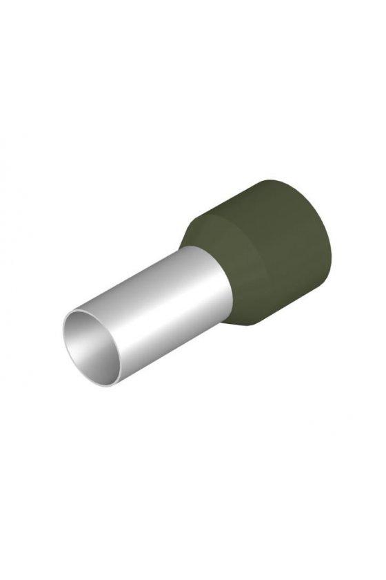 0444200000 Terminales tubulares con aislamiento Para conductores de 50,0 mm² y superior H50,0/36 OLIV