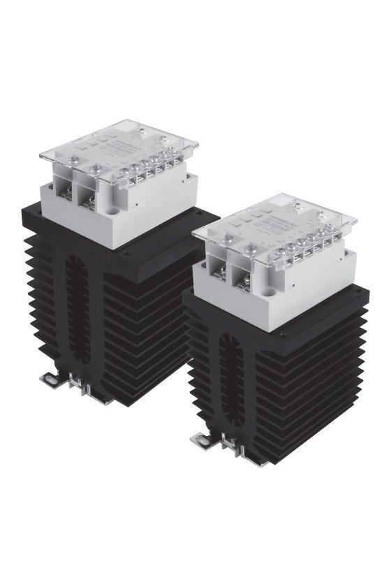 HSR2D102R Relevador Electrónico  44x64mm entrada 4-32vcd  carga 10amp de 90-264vca  random switching