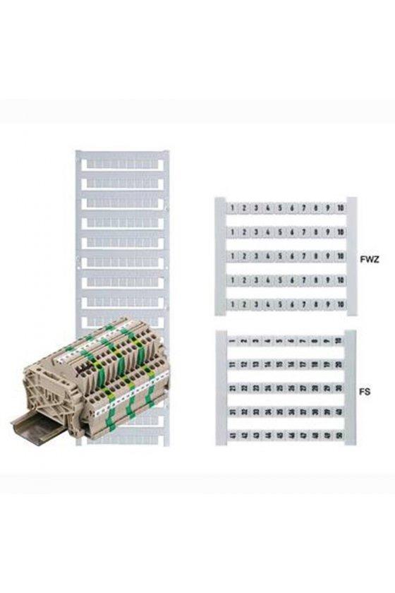 0473560001  Dek 5 Impresión estándar vertical números consecutivos DEK 5 FS 1-50