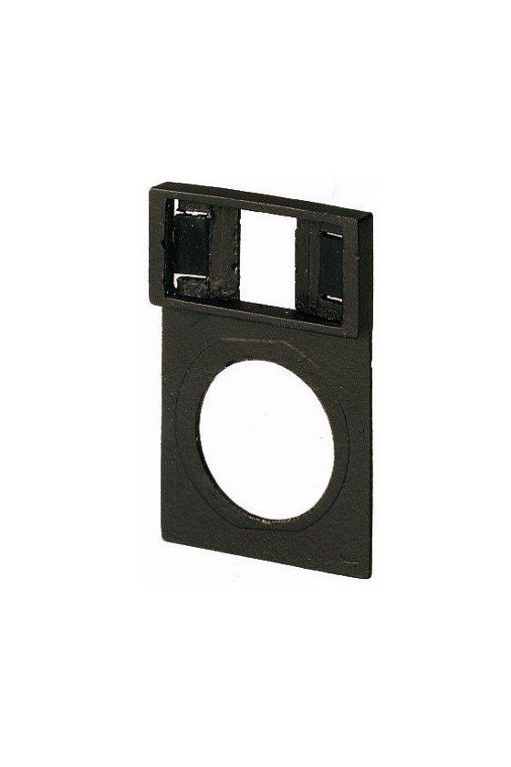 36601 Montaje de etiqueta, negro Q25TS-X