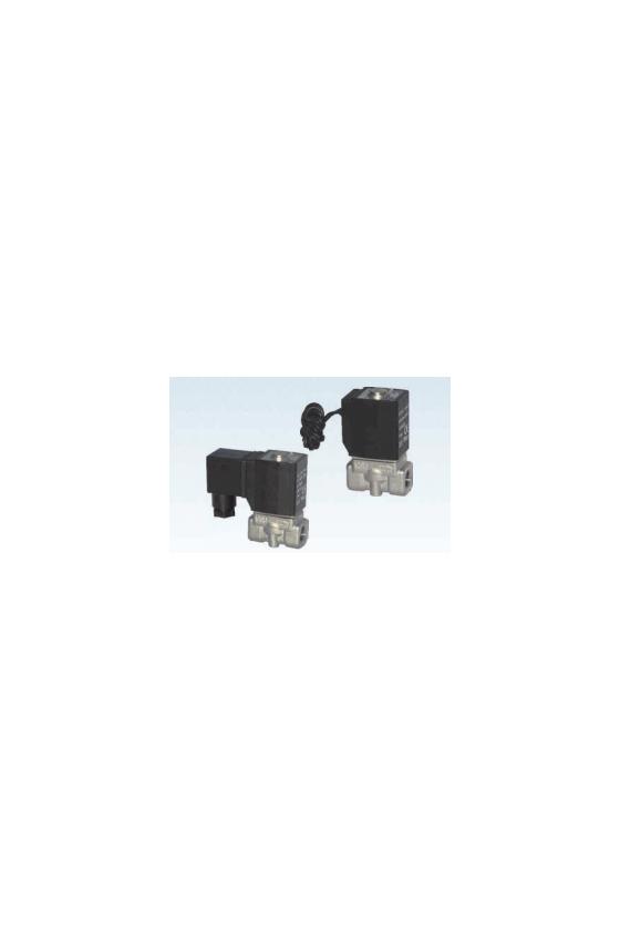 """2L050-15FT Valvula 2/2, Sol. 1/2"""" A. INOX. VAPOR, 12VDCN.C."""