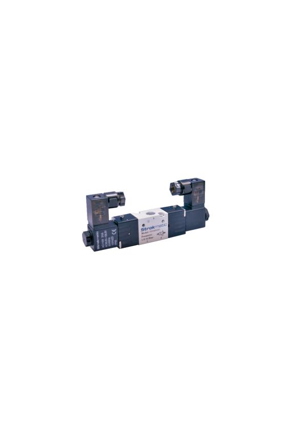 """VS30A101-BP Válvula 3/2 sol. 1/8"""". N. CERRADA 24 VDC"""