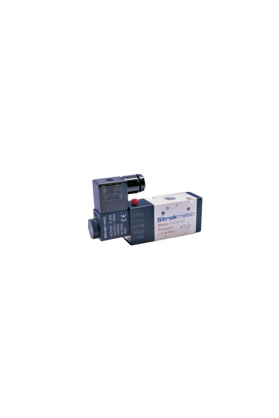 """VS32A102-AP Válvula 3 vías 2 posiciones solenoide puerto 1/4"""" 220 VCA"""