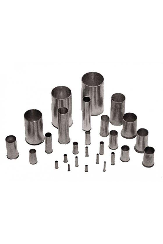 0542500000 Terminales tubulares sin aislamiento Conductor- Sección nominal 0,25 mm² - 6,0 mm² H0,75/10
