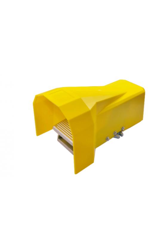"""VF51A102-L Valvula pedal 5 vías 2 posiciones puerto 1/4"""" con enclavamiento y guarda"""